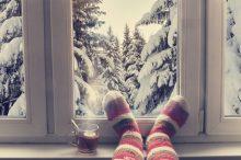 Raumklima im Winter (Sujetbild)